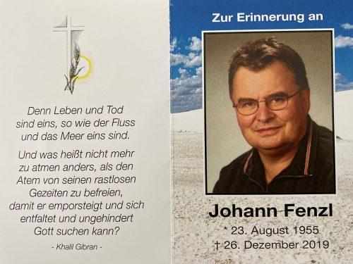Johann Fenzl +